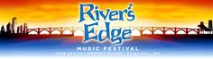 River's Edge Music Festival | A showcase of more than 30 artists on historic Harriet Island:  Who has 2 thumbs, a hottie for a husband and 2 - 2 day wristbands for this show thanks to 96.3 K-TWIN?  This smokin' hot wife!!!!!!!!