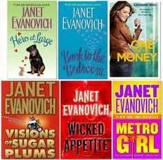 a2aae14ce1a8 I heard Janet Evanovich novels are good!