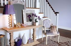 love foyer table!
