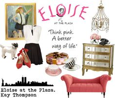 Eloise Eloise At The Plaza, Bookshelf Styling, Hollywood Life, Scene, Classic, Pink, Derby, Classic Books, Pink Hair