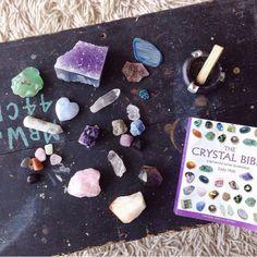 crystal book healing bible