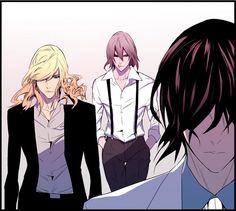 Tags: Anime, Noblesse, Cadis Etrama Di Raizel, M-21, Frankenstein (Noblesse)