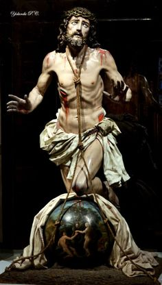 Cristo del perdón, Murcia, Spain.