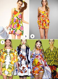 From Runway to Room: Fruit Patterns - The Interior Collective