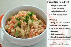 Tuna Rice Salad (E)