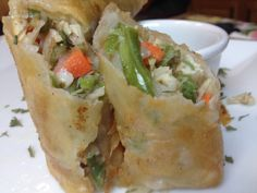 How to make Vegetable Lumpia: Crisp Egg Rolls with Spicy Vinegar Sauce on http://asianinamericamag.com