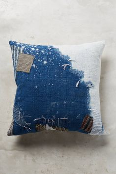 Shop the Charles Galatis Indigo Boro Pillow and more Anthropologie at Anthropologie today. Read customer reviews, discover product details and more.
