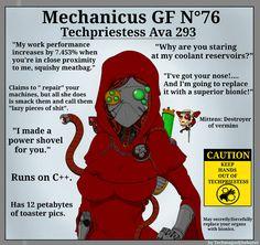 Warhammer Heresy, Warhammer 40k Memes, Warhammer Art, Warhammer 40000, Gf Memes, Funny Memes, Jokes, Dungeons And Dragons Memes, Anime Military