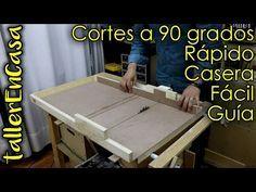 DIY Sierra de banco Parte 5/6 - Deslizador sierra circular de mesa - YouTube