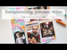 Scrapbooking process video ~ DLS #42 Life is a journey ~ Good times - YouTube