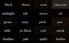 All darks are not black