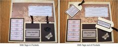 Layout: Photoless Heritage Scrapbook Page ~ Good idea when you still have a story to tell.
