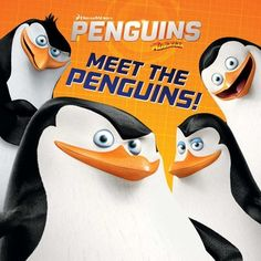 Meet the Penguins of Madagascar in book form   #FLVS #kids #books #literature