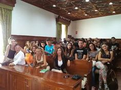 Foto: The meeting at the town hall in Telde