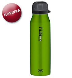 Inteligentni termoska s pítkem 0,5l 699 kč Water Bottle, Pure Products, Drinks, Green, Drinking, Beverages, Water Bottles, Drink, Beverage