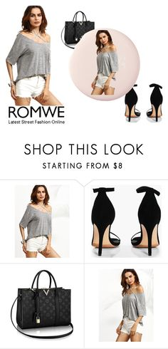 """romwe"" by amruss55 ❤ liked on Polyvore featuring Boohoo"