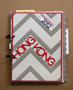 Hong Kong Mini Album  by christap at Studio Calico