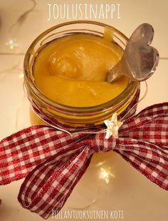 Pullantuoksuinen koti: Joulusinappi Honey, Food, Essen, Meals, Yemek, Eten