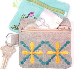 In-the-Hoop Wallets Embroidery Designs by SewCreativewithSnez