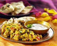 Akoori (Parsi style scrambled eggs)