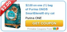 Tri Cities On A Dime: SAVE $2.00 ON PURINA ONE SMART BLEND DRY CAT FOOD ...