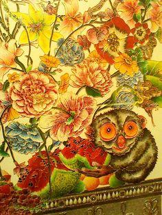 Raqib Shaw Raqib Shaw, Manchester Art, Contemporary Paintings, Art School, March 2013, Beast, Art Gallery, Flowers, Prints