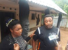 Distraught Nigerian Couple Rescued from Ritualist Shrine in Ikorodu (Photos)