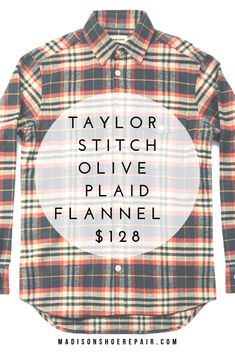 d5ab5d5868a5 This Taylor Stitch Crater Shirt in Olive Plaid is the softest flannel shirt  you ll ever meet. Add to your winter outfits ASAP!