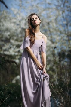 The Rewritten Mykonos Oyster pink floor length dress with a v neck, spaghetti straps and cold shoulder sleeve. An awesome dress that would look amazing on bridesmaids. #coolbridesmaids #coolbride #modernbride #modernbridesmaids #bohobridesmaids #bohobride #londonbridesmaids #londonbride #wedding #bridesmaidsdress #bridesmaids #bridesmaidsinspo #weddinginspo #2018bride #bridetobe #engaged