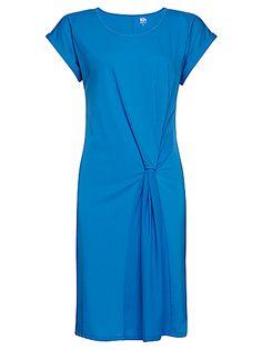 Buy Kin by John Lewis Twist Detail Jersey Dress, Blue online at JohnLewis.com - John Lewis