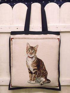 LenaFolk / Nákupná taška-mačka