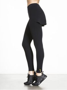 476b97ffc88e4 Giving your body a sleek and trim silhouette, the Nuova legging from Sapopa  is perfect for working out at the gym or running errands around town.