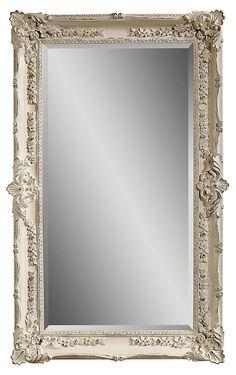 Presley Floor Mirror - Silver | Living Room Inspiration | Pinterest ...