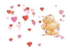 Motivos , ideias e cia: Ursinhos apaixonados