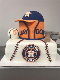 Jaydon's Astros Birthday cake First Birthday Themes, 9th Birthday Parties, 60th Birthday, Baseball Birthday Cakes, Baseball Party, Grooms Cake Tables, Groomsman Cake, Hulk Party, September Baby