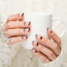 7 Negative Space Manicures You'll Love