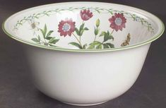 Studio Nova GARDEN BLOOM Salad Serving Bowl 5774034 #StudioNova