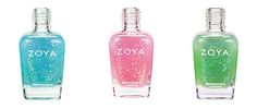 Zoya Fleck Effect Spring 2012 Review + Swatches