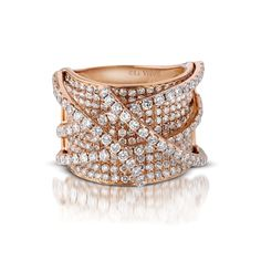 Le Vian diamond band---it's wonderful how 3 dimensional their work is.  I love it!!!