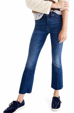 e2ccfa45193 OUTFIT 3 Main Image - Madewell Cali Demi Boot Jeans (Wyoming Wash)
