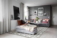 Top Modern Living Room Interior Designs and Furniture Scandinavian Bedroom Decor, Scandinavian Apartment, Interior Design Living Room, Living Room Designs, Living Room Decor, Dream Decor, Living Room Inspiration, House Design, Home Decor