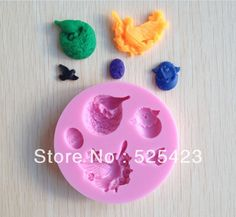 1PCS eagle and bird shape Chocolate Candy Jello 3D silicone Mold Cartoon Figre/cake tools Soap Mold Sugarcraft Cake Decoration(China (Mainland))
