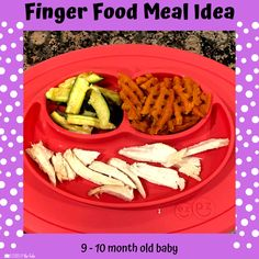 Babies Eating at 10 Months - Lessons By The Lake 10 Months Baby Food, 10 Month Old Baby Food, Baby Finger Foods, Baby Foods, Baby Meal Plan, Healthy Baby Food, Food Baby, Whole Wheat Waffles, Baby Solid Food