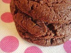 Más galletas de chocolate y nuez