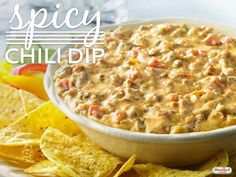 Game Day recipe favorites from The Blind Side's Leigh Anne Tuohy Chili Dip, Spicy Chili, Dressings, Great Recipes, Favorite Recipes, Game Day Food, Appetizers For Party, Main Meals, Macaroni And Cheese