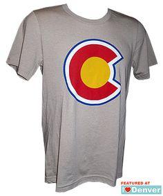 Colorado State Flag C Shirt - Tan