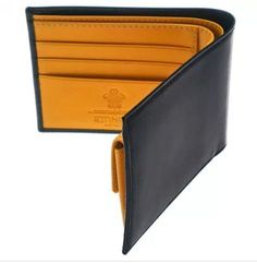 From the world renowned #Ettinger Bridle Hide Collection, using traditional black English bridle hide on the outside and Ettinger's signature vegetable tanned panel hide in #London Tan inside.We present to you this exquisite Ettinger #Wallet. To find out more and to purchase this piece visit https://www.kensington-bespoke.uk/product/for-him/ettinger-wallet-black/ #LuxuryBrands #Fashion #Kensington #Designer