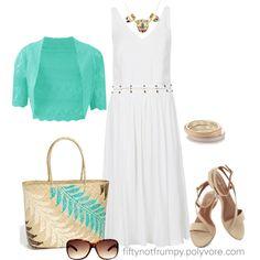 The Midi Dress by fiftynotfrumpy, via Polyvore