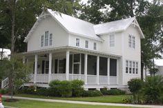 Farmhouse Style House Plan - 3 Beds 2.5 Baths 2038 Sq/Ft Plan #894-1 Exterior - Front Elevation - Houseplans.com
