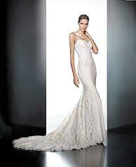 Beautiful Pronovias Wedding Gown